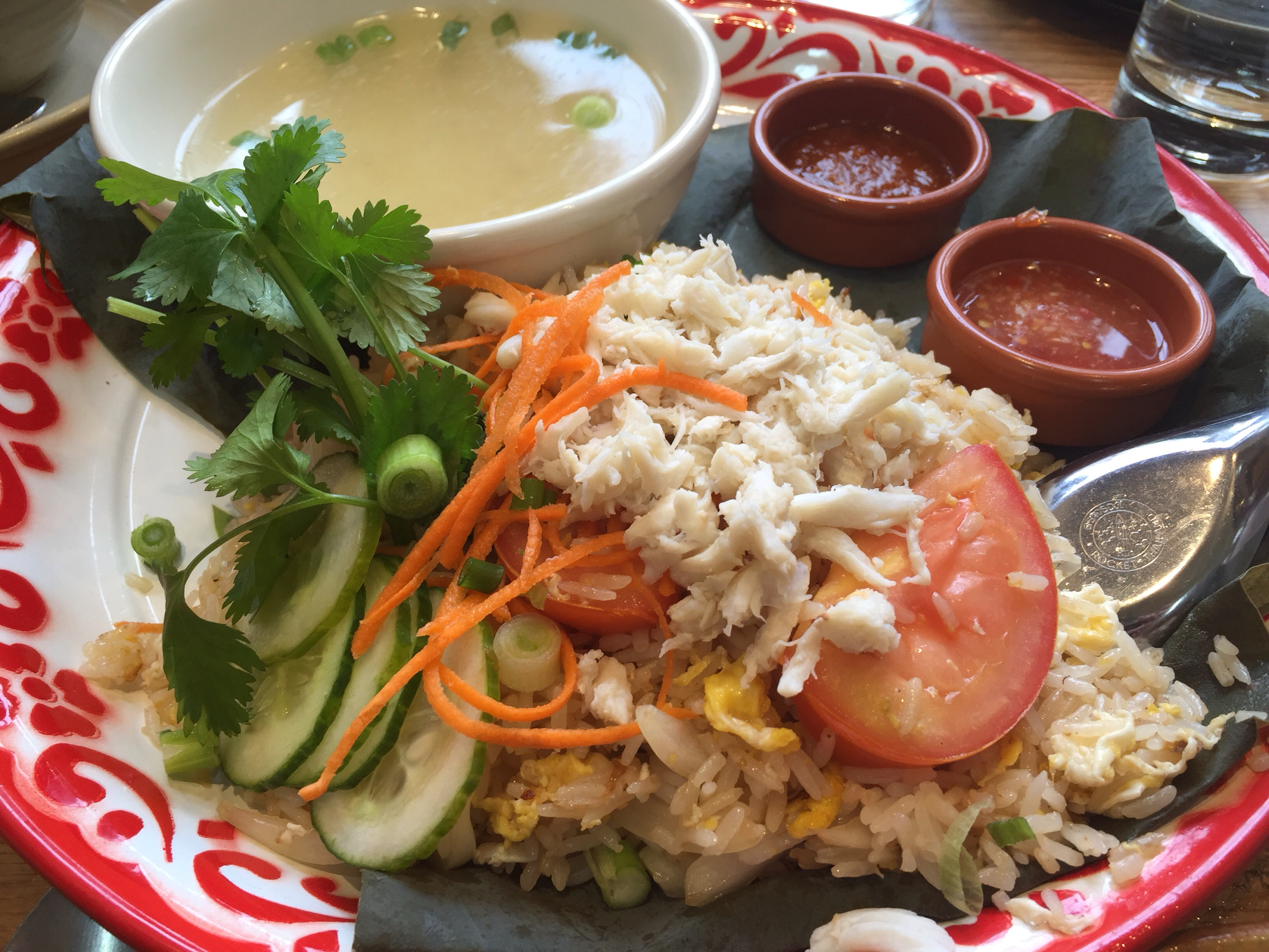 Crab fried rice 510foodie if you enjoy thai food make your way to daughter thai in montclair village they have some of the best and authentic thai food in the bay area ccuart Images